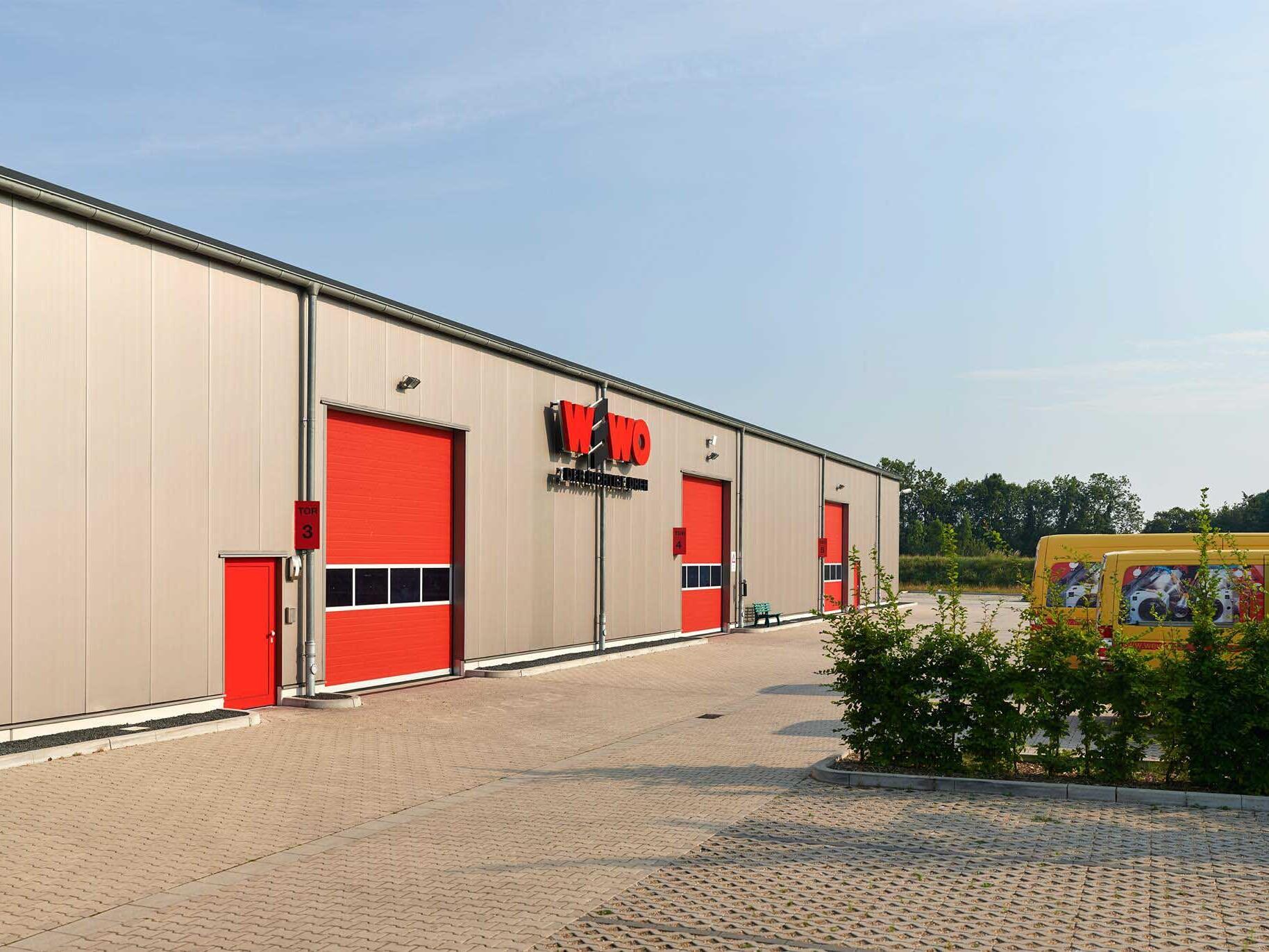 Logistikzentrum, Schraubenlager